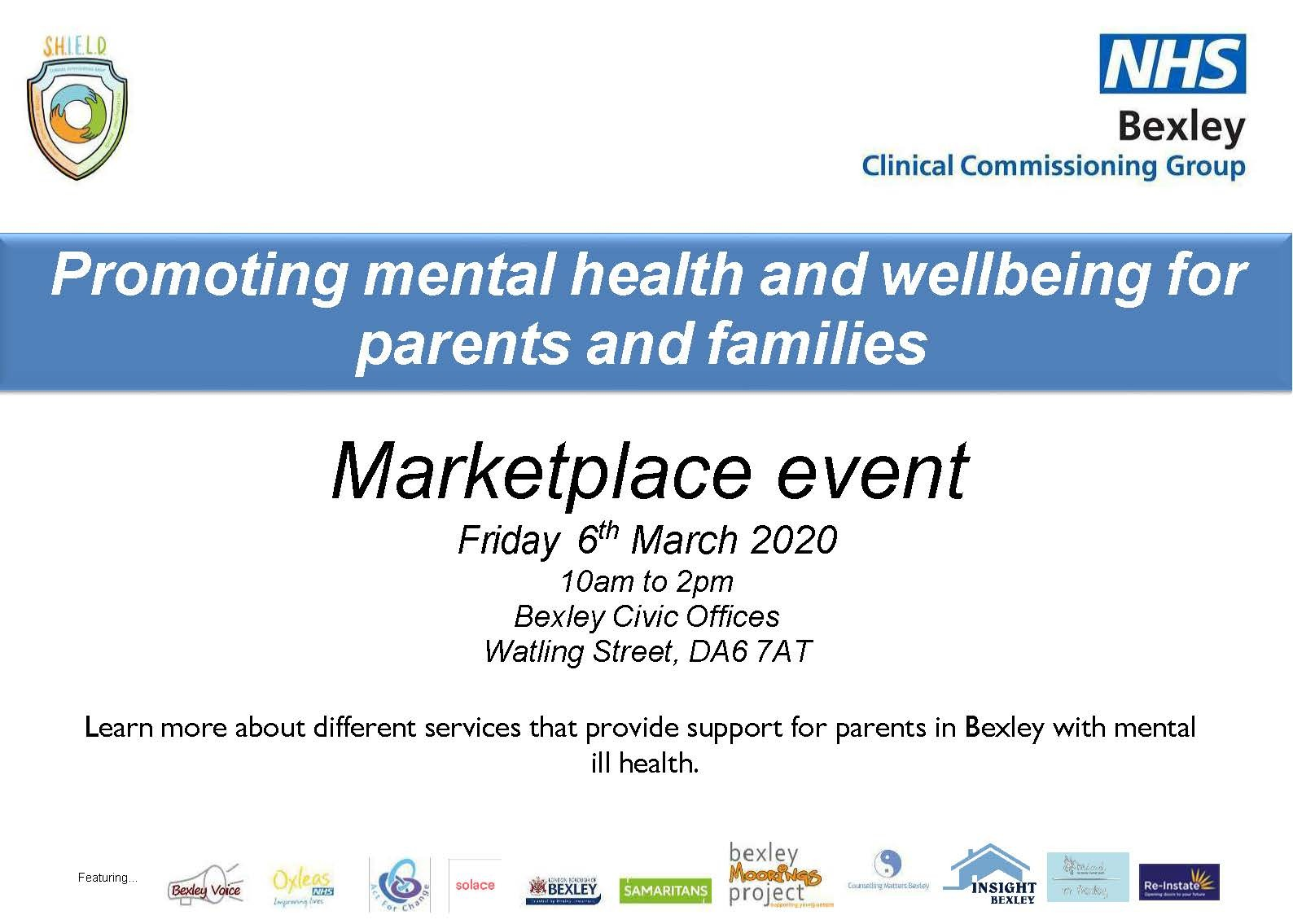 Promoting mental health and wellbeing for parents and families